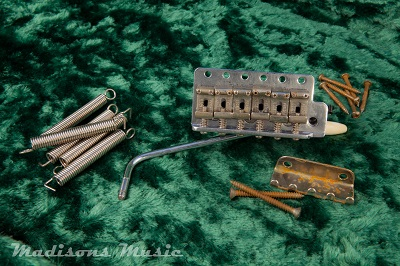 1957-1962 Era Aged Stratocaster Bridge Tremolo