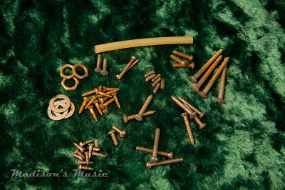 50's Era AGED Telecaster Screw Package