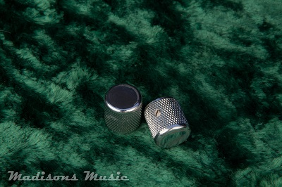 60's Era AGED Flat Barrel Knobs