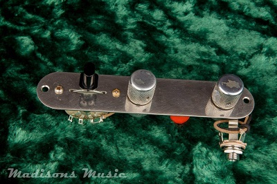 AGED 60's Era Wired Telecaster Control Plate