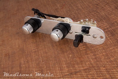 Telecaster Stack Knob Control Plate